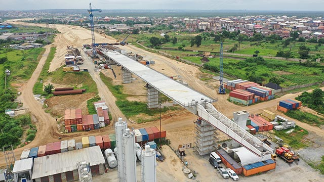 Niger Bridge Eastern Approach – Segment 7 (North) successfully launched